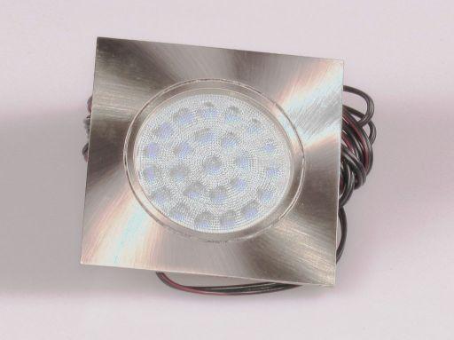 Zdjęcie HALOGEN LED WPUSZCZANY KWADRAT DL43 ZIMNY