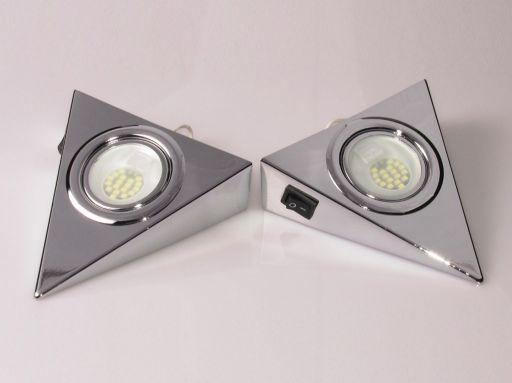Zdjęcie LAMPKA TRÓJKĄT LED Z WYŁĄCZNIKIEM OHTLW