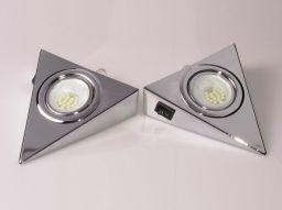 LAMPKA TRÓJKĄT LED Z WYŁĄCZNIKIEM OHTLW